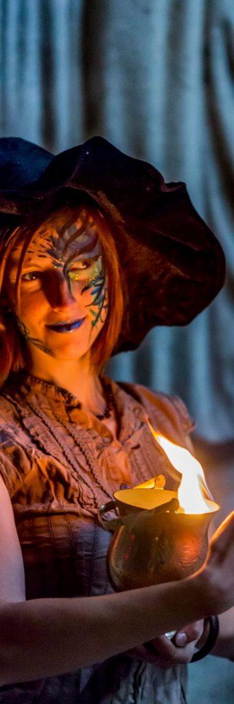 Witches story : Un spectacle de feu sur la sorcellerie