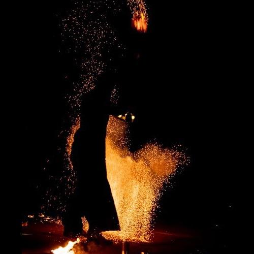 Spectacle pyro pour un mariage