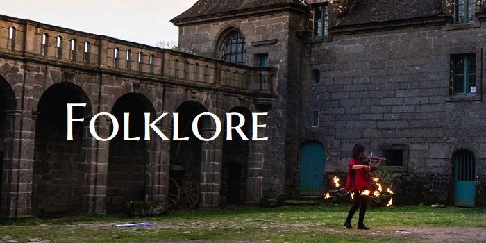 Spectacle de feu inspiré du folklore breton