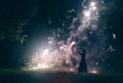 Magie Blanche - spectacle de feu